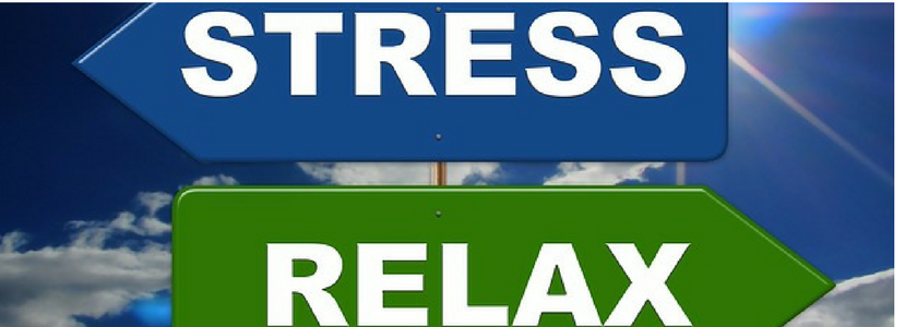 Stress Relax Sign